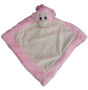 Pink Remembears Monkey Blanket