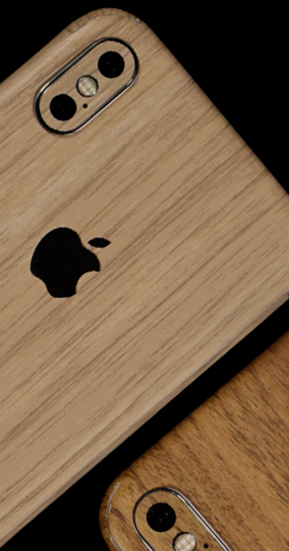 iPhone Light Pine Wood Rear Vinyl Skin Sticker Skin Wrap Cover Case ALL iPhones by  Wrap My Phone