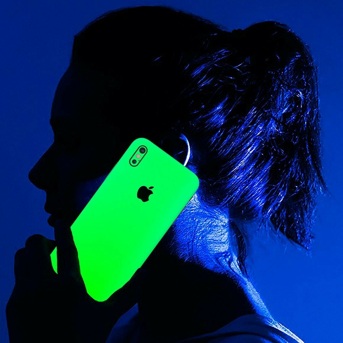 iPhone Huawei Samsung Glow In The Dark Vinyl Skin Sticker Skin Wrap Cover Case by  Wrap My Phone