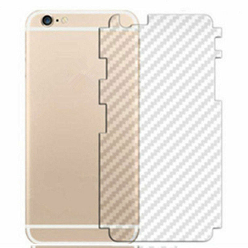 10 X Clear Carbon Fibre Phone Sticker Wrap For IPhone Cover Back All iPhones by  Wrap My Phone