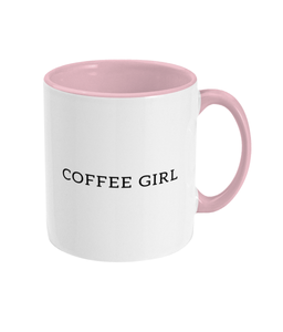 Coffee Girl Two Colors Mug