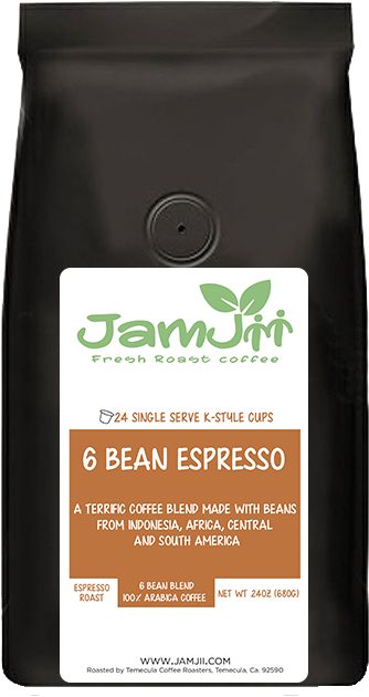6 Bean Espresso Single Serve