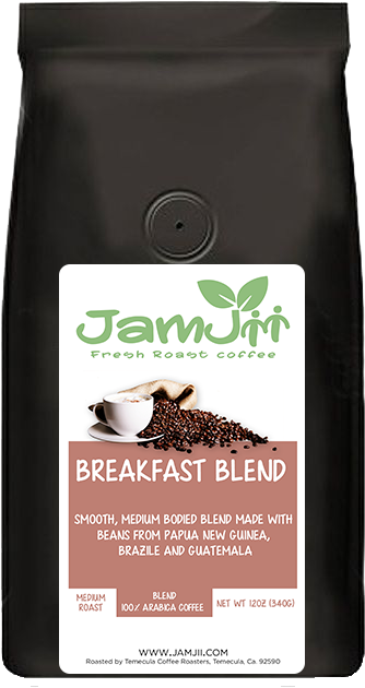 Breakfast Blend Fresh Roast Coffee