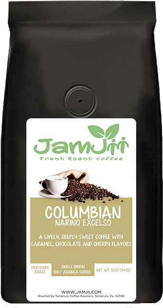 Colombian Narino Excelso Fresh Roast Coffee