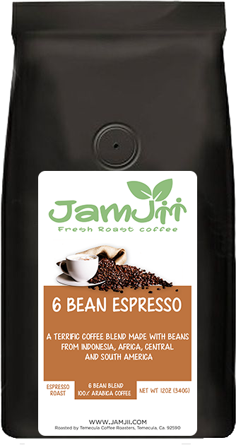 6 Bean Espresso Fresh Roast Coffee