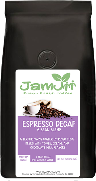 Swiss Water Decaf Espresso Fresh Roast Coffee