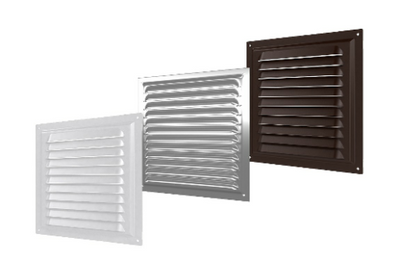 Wall Roof Ceiling Fixed Metal Flat Grille