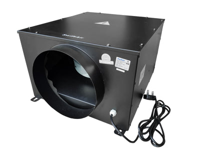 QBF Low Noise Silent Centrifugal Acoustic Box Fan upto 2150m3/hr 4 5 6 8 10 12