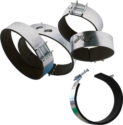 Ducting Padded Fast Clamp 4