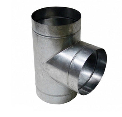 T Tee Piece Metal Equal 4