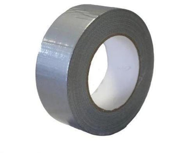 50m x 48mm Roll Silver Gaffer Gaffa Duck Duct Cloth Tape