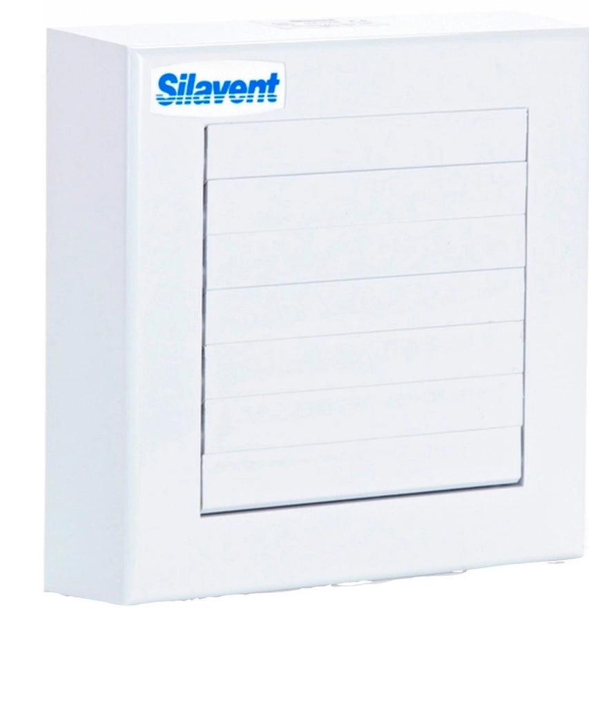 Silavent/Domus SVC100 Auto Shutter Extractor Fan Std Timer Pull Cord Humidity