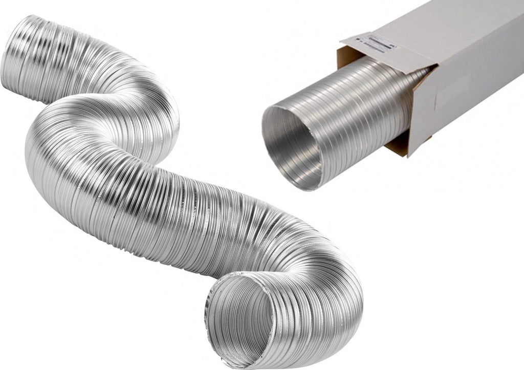 "Aluminium Semi Rigid Flexible Duct 4"" 5"" 6"""