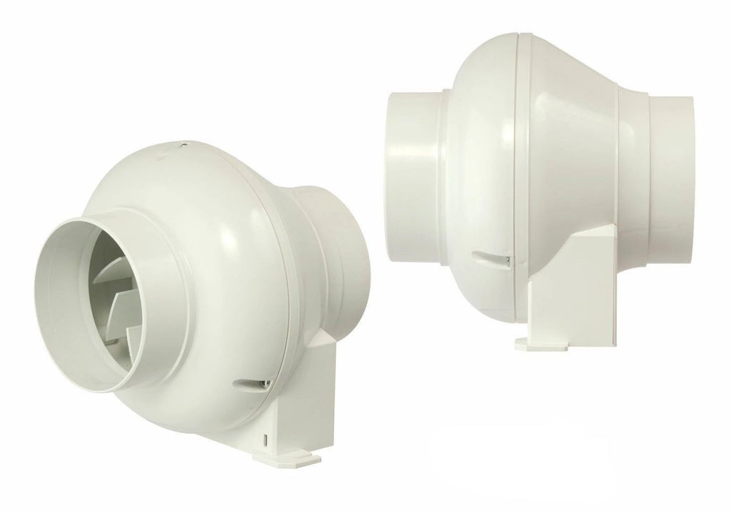 "Manrose CFD200N In Line Centrifugal Fan with timer Std 4"" 100mm CFD200 MAN50"