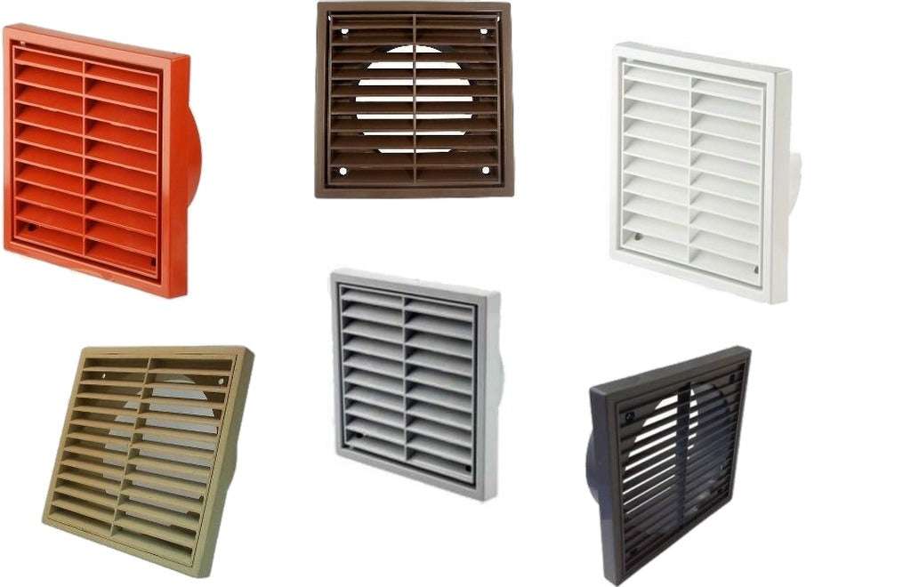 "4"" 5"" 6"" Fixed Wall Ceiling Grille"