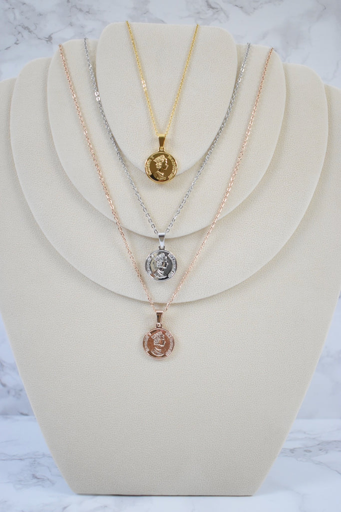 Collar Moneda Queen