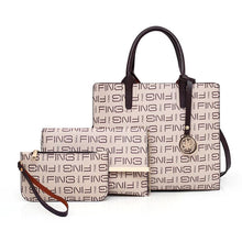 Load image into Gallery viewer, Shoulder Bags Messenger Handbags Three-Piece Women's Bag
