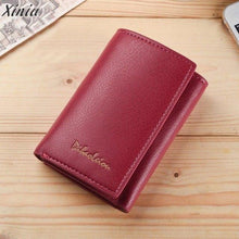 Load image into Gallery viewer, Wallet Women Unisex  Leather coin Purse