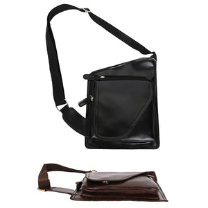 Fashion Men Spring Chest Crossbody Messenger Casual Zipper Single Shoulder Bag