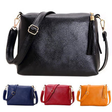 Load image into Gallery viewer, Women Leisure Shopping Travel Tassel Shoulder Bag Tote Cross Body Square Gift
