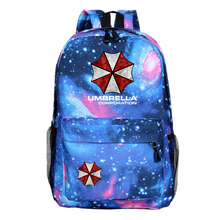 Load image into Gallery viewer, Arrival Movies Resident Evil Backpacks for teenagers women backpacks Canvas school bags Mochila Uniesx