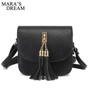 Small Chains Bag Women Candy Color Tassel Messenger Bags Female Handbag Shoulder Bag Bolsa Feminina