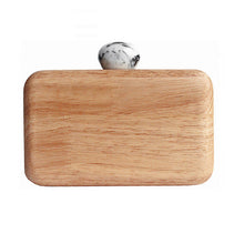 Load image into Gallery viewer, Women evening bag Cute wood casual Clutch