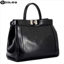 Load image into Gallery viewer, Women messenger bag patent leather handbag Brand crossbody Luxury Tote women travel Leather handbags shoulder bags bolsa