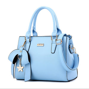 Europe women leather handbags PU handbag leather women bag patent handbag