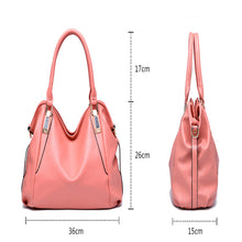 Load image into Gallery viewer, Herald Fashion Designer Women Handbag Female PU Leather Bags Handbags Ladies Portable Shoulder Bag