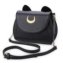Load image into Gallery viewer, Cat Shape Chain Shoulder Bag PU Leather  Messenger Crossbody