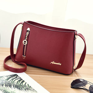 ShuNvBaSha 2017 New Women Shoulder Bag Fashion Female Casual Handbag Leisure Bag Satchel All-match Minimalist Trend Bag