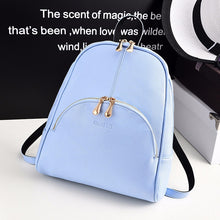 Load image into Gallery viewer, ShuNvBaSha 2017 New Women Shoulder Bag Fashion Female CasualBackpack Leisure Bag Satchel Travel Bookbags