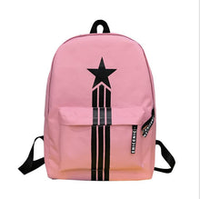 Load image into Gallery viewer, CHAOSHOU New computer bag nylon bag couple backpack five-pointed star men's backpack