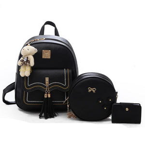 2018 new small fresh women's bag Japanese style female women's suit backpack shoulder bag small girl backpack