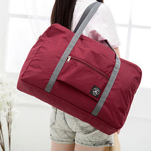 Load image into Gallery viewer, Foldable Large Duffel Bag Luggage Storage Bag Waterproof Travel Pouch Tote Bag