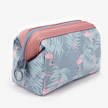 Load image into Gallery viewer, Cotton Oval Carrying Home Organization, 1pc Makeups Storage / Girls & Young Women / Cosmetic Bag