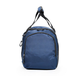 Oxford Cloth Nylon Zipper Travel Bag Solid Color Practice Dark Blue / Purple / Sky Blue / Unisex / Fall & Winter
