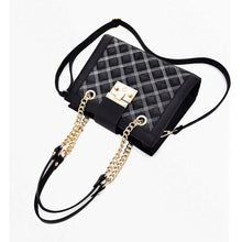 Load image into Gallery viewer, Women's Cowhide Crossbody Bag Solid Color Black / Fall & Winter