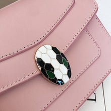 Load image into Gallery viewer, Women's Buttons / Zipper PU Crossbody Bag Solid Color Black / White / Blushing Pink / Fall & Winter