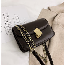 Load image into Gallery viewer, Women's Buttons PU Crossbody Bag Solid Color Black / Dark Brown / Wine / Fall & Winter