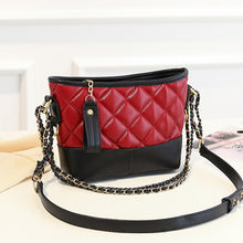 Load image into Gallery viewer, Women's Zipper PU Shoulder Messenger Bag Solid Color Black / Wine / Blushing Pink / Fall & Winter