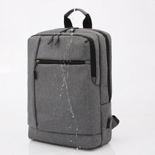 Load image into Gallery viewer, Large Capacity Nylon Zipper School Bag Solid Color Daily Black / Sillver Gray / Light Grey