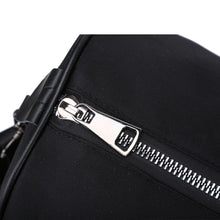 Load image into Gallery viewer, Oxford Cloth Striped Travel Bag Zipper Striped Black / Unisex / Fall & Winter
