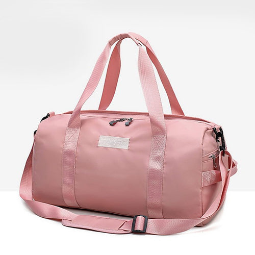 Zipper Travel Bag Solid Color Solid Color Nylon Synthetic Daily Black / Red / Pink / Unisex / Fall & Winter