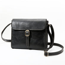 Load image into Gallery viewer, Women's PU Shoulder Messenger Bag Solid Color Black / Brown / Wine