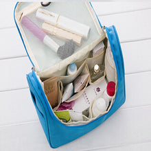 Load image into Gallery viewer, Cosmetic Bag Others Others Others cosmetic bag solid others others pu blue pink orange others normal 29 8 5 17 women