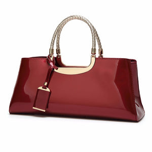 Women's Bags Tote Zipper for Casual Blushing Pink / Fuchsia / Wine