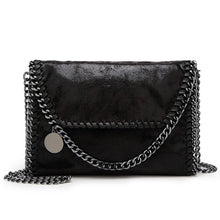 Load image into Gallery viewer, Women's Zipper / Chain PU(Polyurethane) / PU Crossbody Bag Solid Color Black / Blue / Red / Fall & Winter