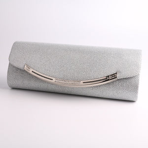 Women's Crystal / Rhinestone Polyester / Metal Evening Bag Rhinestone Crystal Evening Bags Black / Silver / Almond